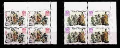 Vaticano 1986 - 50° Anniversario della fondazione della Pontificia Accademia delle Scienze - quartine