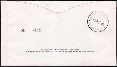 1964 - Inaugurazione del ponte Giovanni da Verrazzano a New York - busta 1° giorno