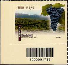 Italia 2016 - I Vini Italiani DOCG - codice a barre n°  1726