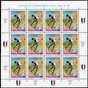 Italia 2000 - S.S. Lazio  campione d'Italia 1999/2000 -  minifoglio