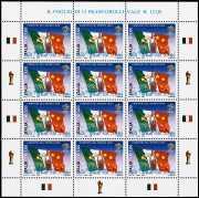 Italia 2006 - Campioni del Mondo  -  minifoglio